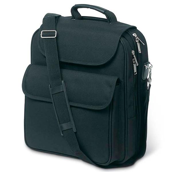 Notebook Tasche in schwarz (bedrucken als Werbegeschenk)