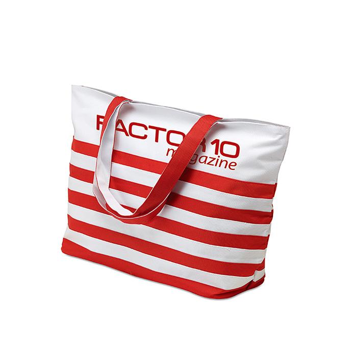 Einkaufs-Tasche (bedruckbar) im Strand – Marinestyle