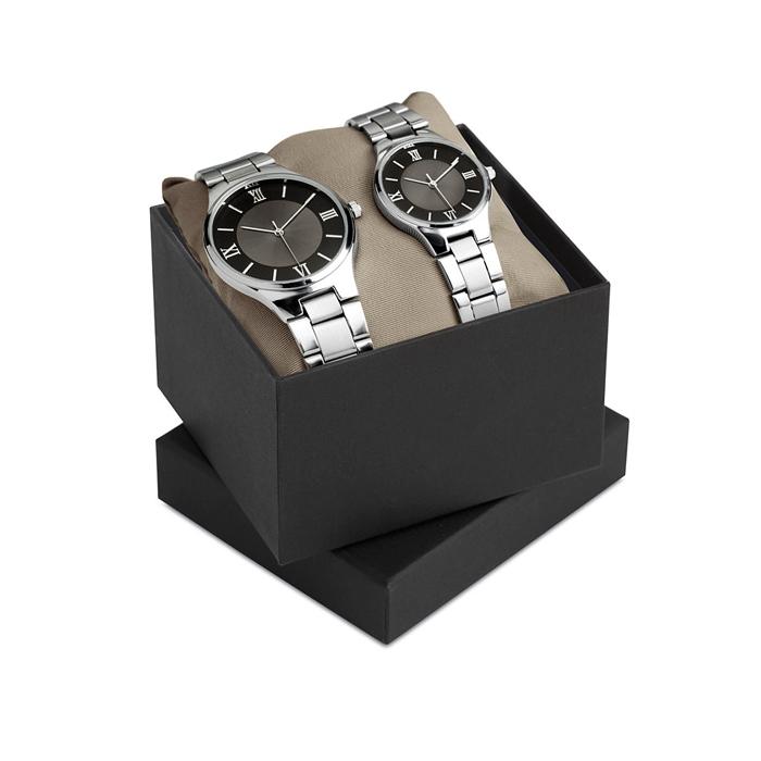 Uhren-Set (bedruckbares Werbegeschenk)