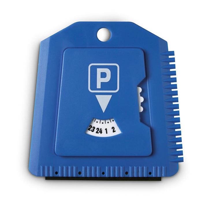 Parkscheibe/Eiskratzer – bedruckbar als Werbemittel mit einem Logo