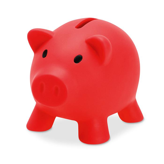 Sparschwein zum Bedrucken mit einem Logo
