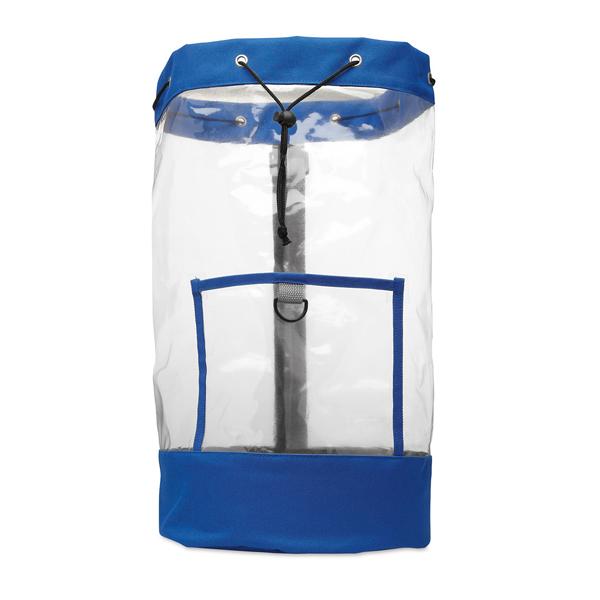 Transparenten Rucksack bedrucken als Werbegeschenk