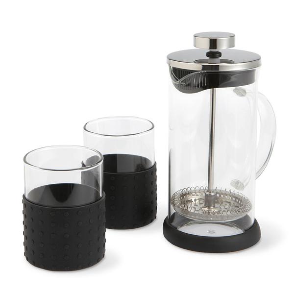Tee-und Kaffee-Presse als Werbeartikel zum Bedrucken