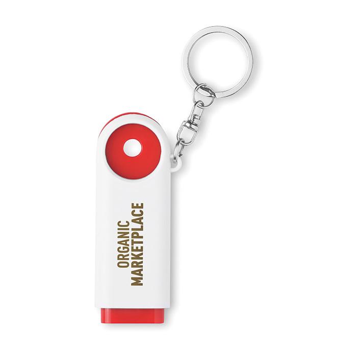Schlüsselanhänger als Werbegeschenk (bedruckbar mit Logo)