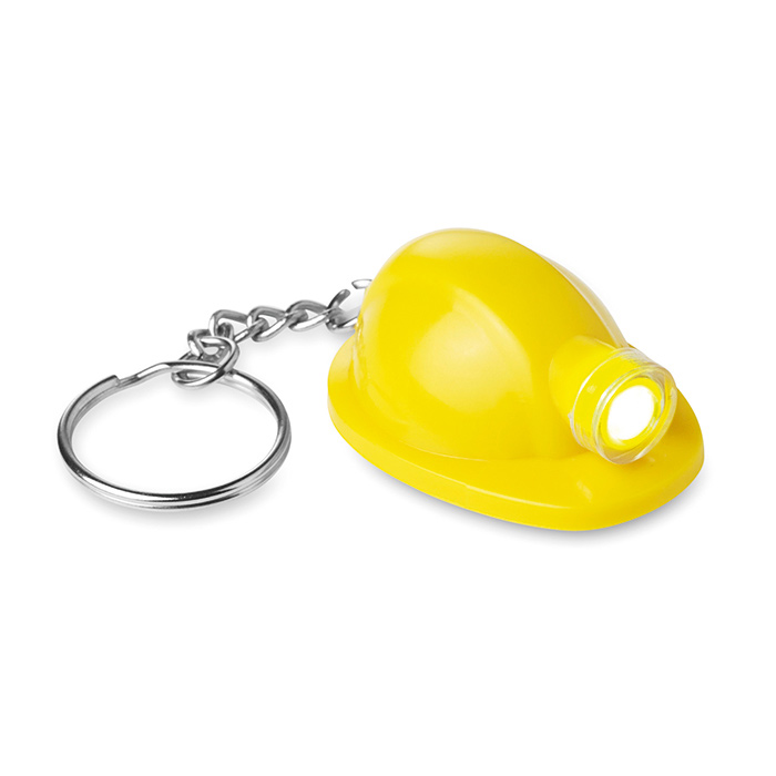 Schlüsselanhänger Schutzhelm (Werbeprodukt zum Bedrucken mit Logo)
