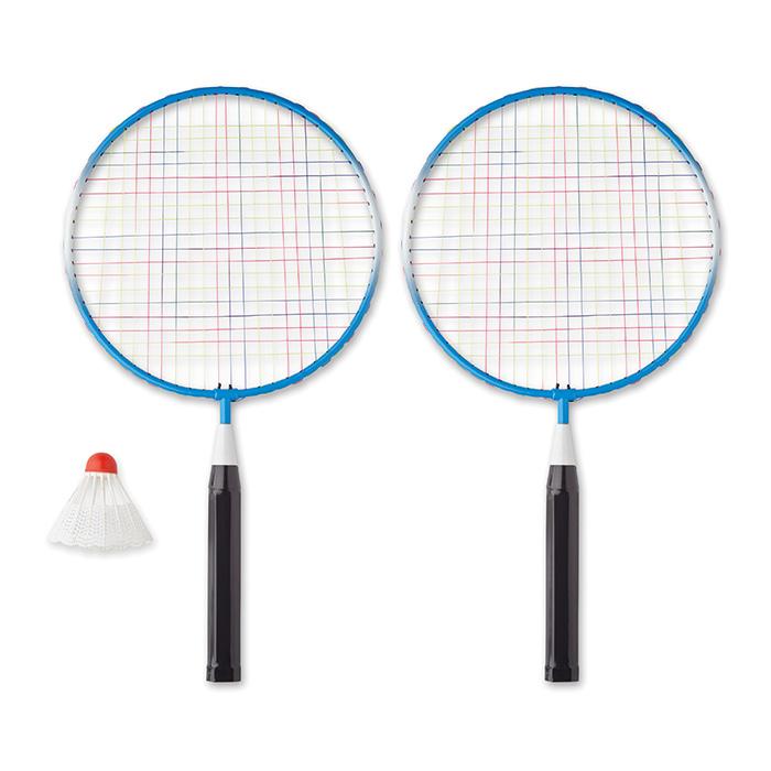 Badminton-Set – Werbemittel zum Bedrucken mit einem Logo