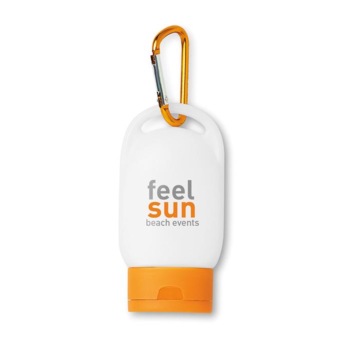 Sonnencreme (Werbeartikel zum Bedrucken)