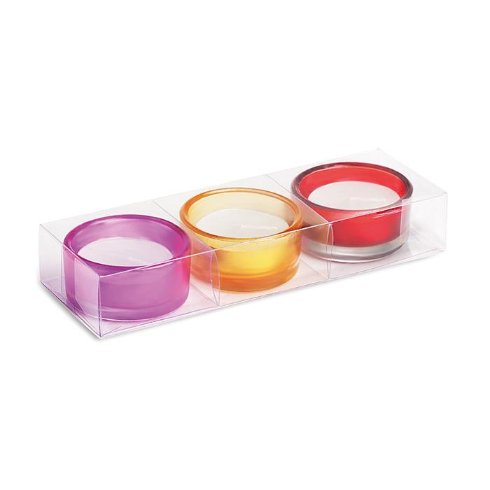 Teelichter-Set (mit einem Logo bedruckbares Werbepräsent)