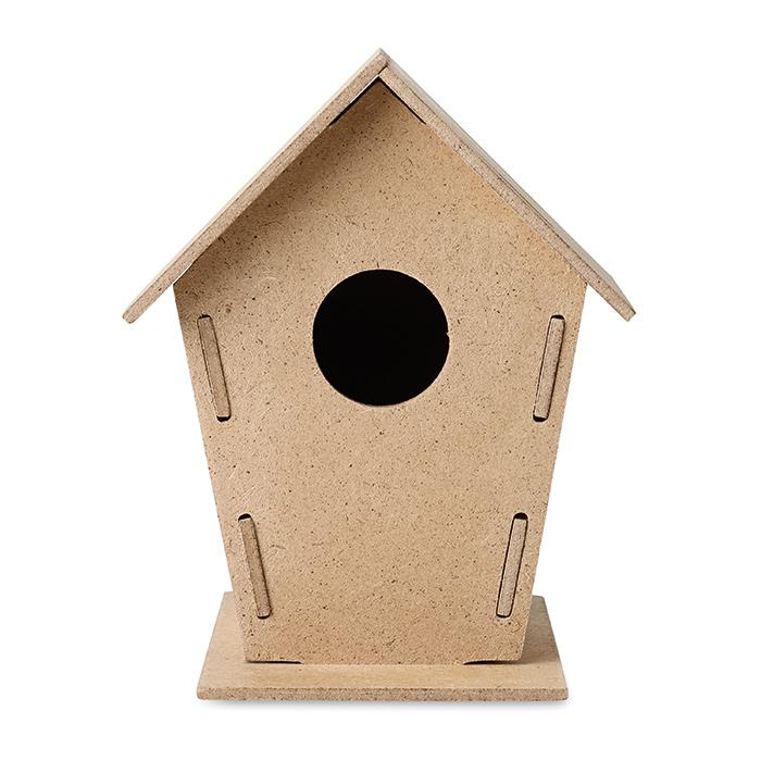 Vogelhaus zum Bedrucken als Werbeartikel