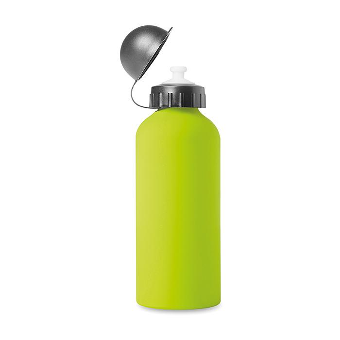 Aluminium Trinkflasche Softtouch gummiert (bedruckbar)