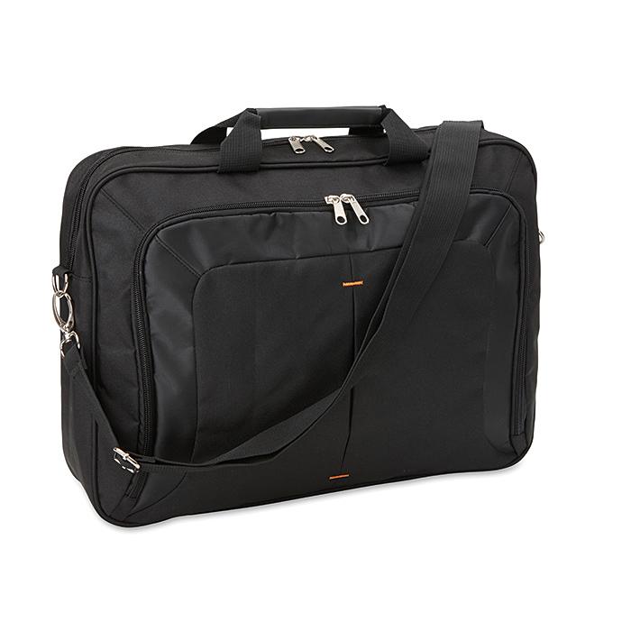 17 Zoll Computer-Tasche mit Griff und Schultergurt als Werbeartikel bedruckbar