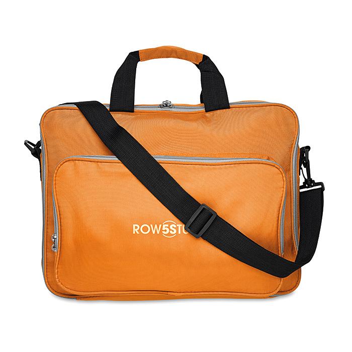15 Zoll Computer-Tasche mit Griff und Schultergurt als Werbeartikel bedruckbar