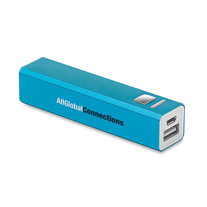 Powerbank – Ladegerät aus Aluminium zum Bedrucken