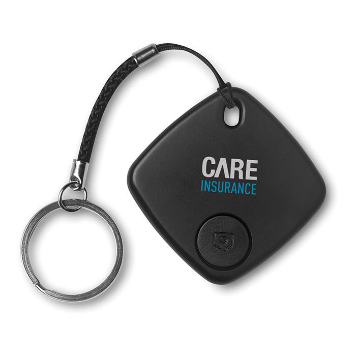 Bluetooth Keyfinder als Werbegeschenk zum individuellen Bedrucken mit einem Logo