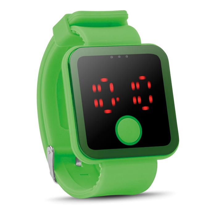 Grüne Bluetooth Smartwatch (bedruckbar als Werbegeschenk)