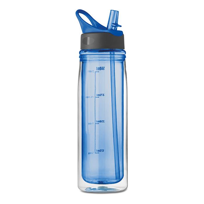 Trinkflasche mit Doppelwandsystem (online bedruckbar als Werbegeschenk)