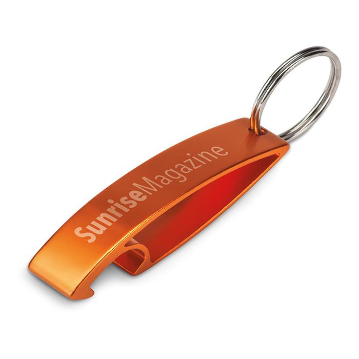 Schlüsselring als Werbeprodukt zum Bedrucken mit Logo