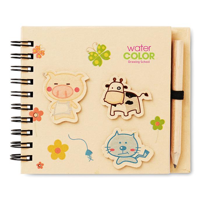 Kinder-Notizbuch (online bedruckbar als Werbegeschenk)