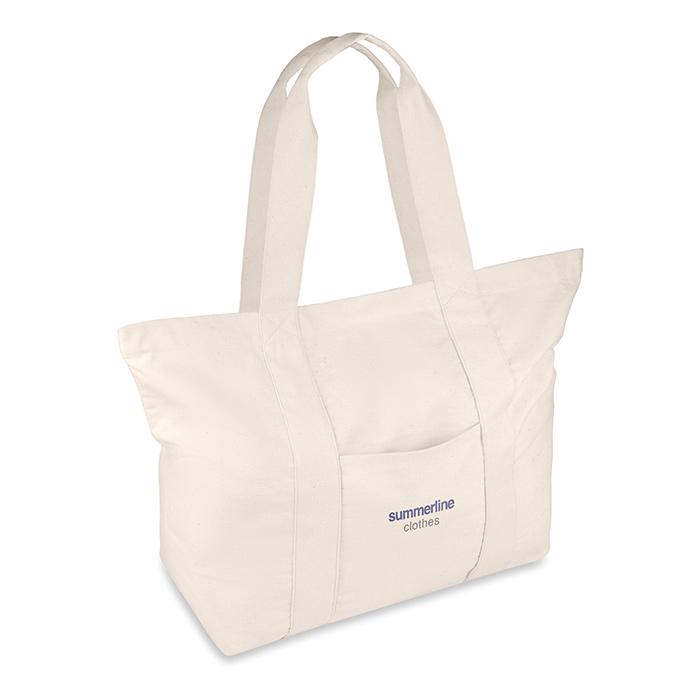 Canvas-Strandtasche (günstig und individuell bedruckbar als Werbeprodukt)