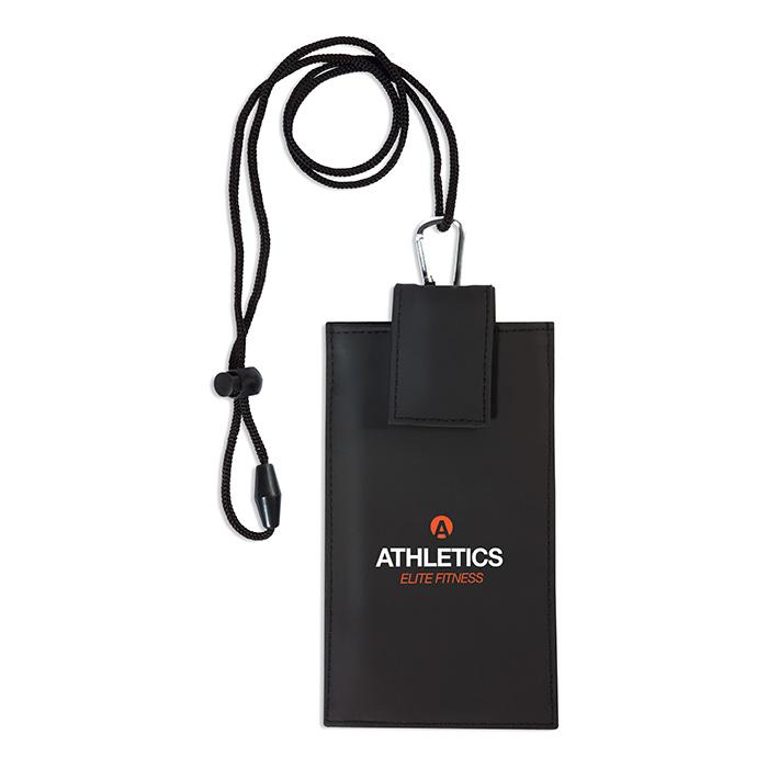 Smartphone Tasche mit Logo (bedruckbar als Werbepräsent)