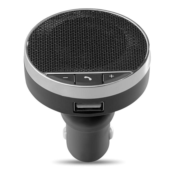Bluetooth Freisprecheinrichtung als Werbeartikel zum Bedrucken mit einem Logo nach Wahl
