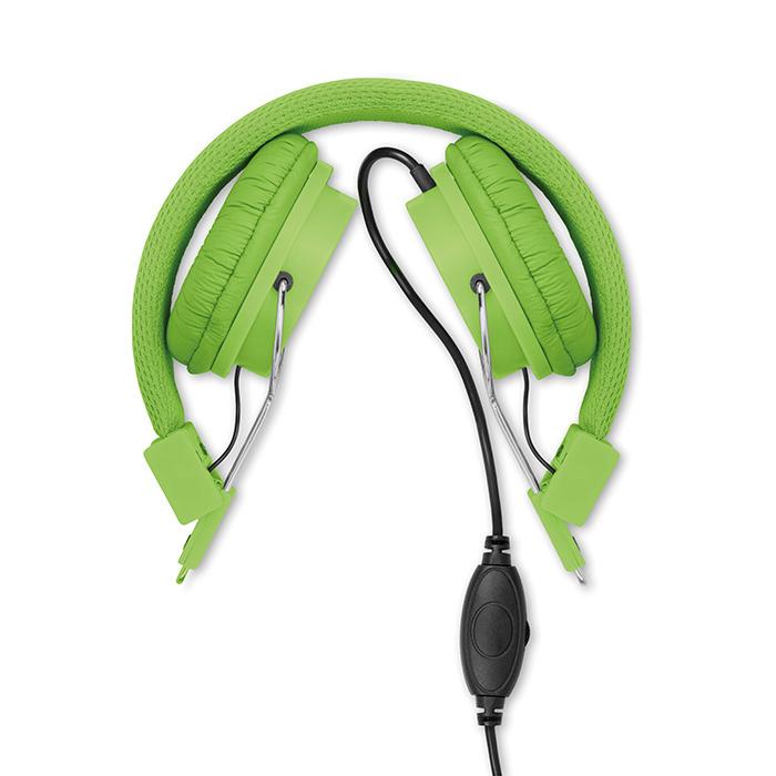 Bügel-Kopfhörer individuell bedruckbar als Werbepräsent mit Logo