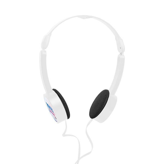 Bügel-Kopfhörer als Werbeprodukt zum Bedrucken