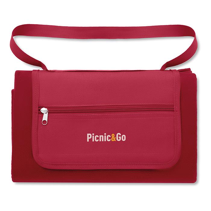 Picknickdecke mit Logo (bedruckbar als Werbeträger)