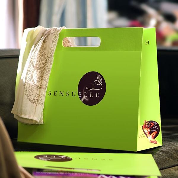 Papiertragetasche – Boutique Tüte – bedrucken