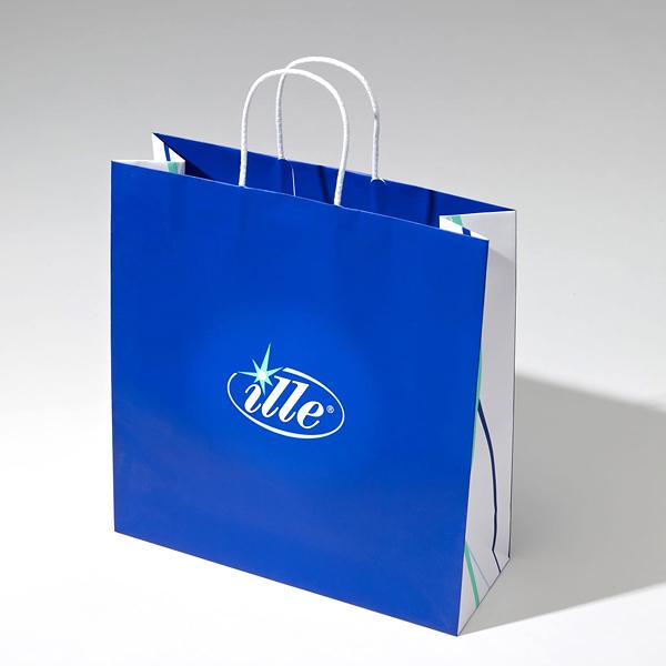 Prestige Papiertragetasche – Boutique Tüte – zum bedrucken