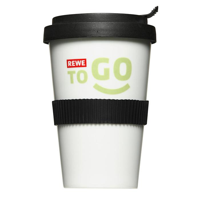 Coffee to go bedrucken Becher als Werbeartikel