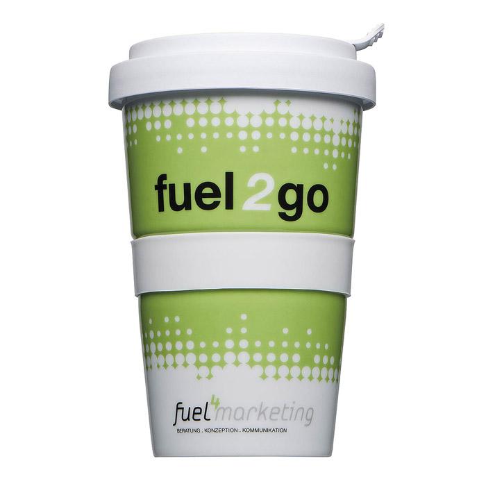 500 Stück Coffeetogo mit Druck als Werbeartikel
