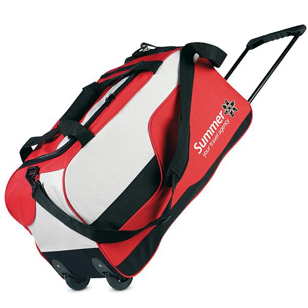 Reisetasche mit Rollen (bedruckbar)