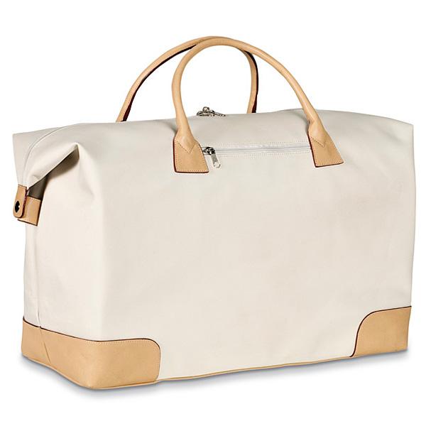Stilvolle Reisetasche bedrucken als Werbegeschenk