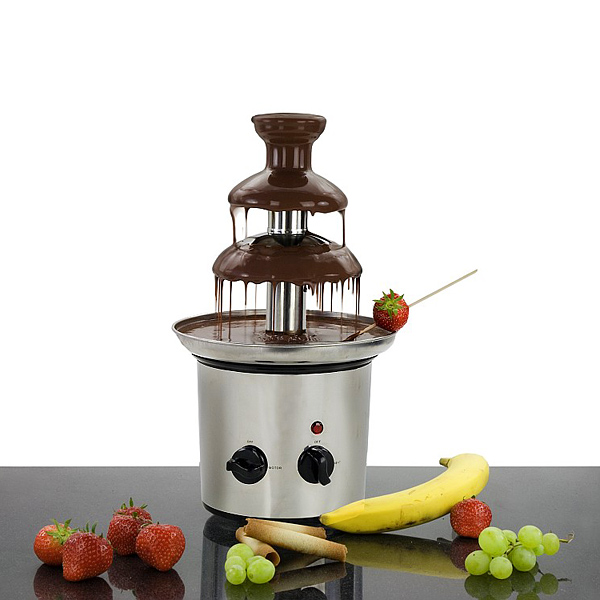 Schokoladenbrunnen als Werbegeschenk
