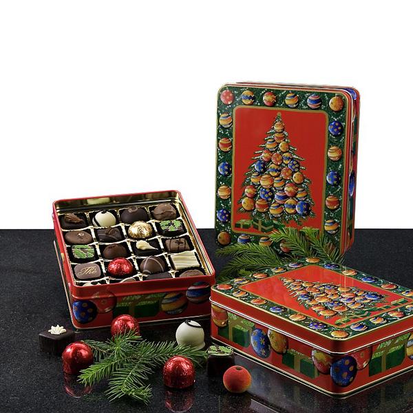 Pralinen Set als Werbepräsente Weihnachten