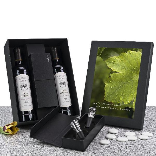 Wein-Accessoire Set als Weinpräsent