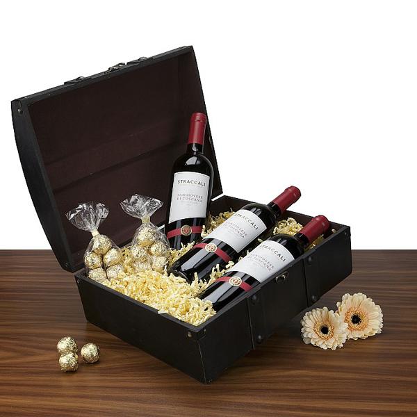 Sangiovese Rotwein als Geschenkset