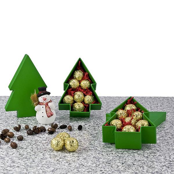 Pralinen als Werbepräsent zu Weihnachten