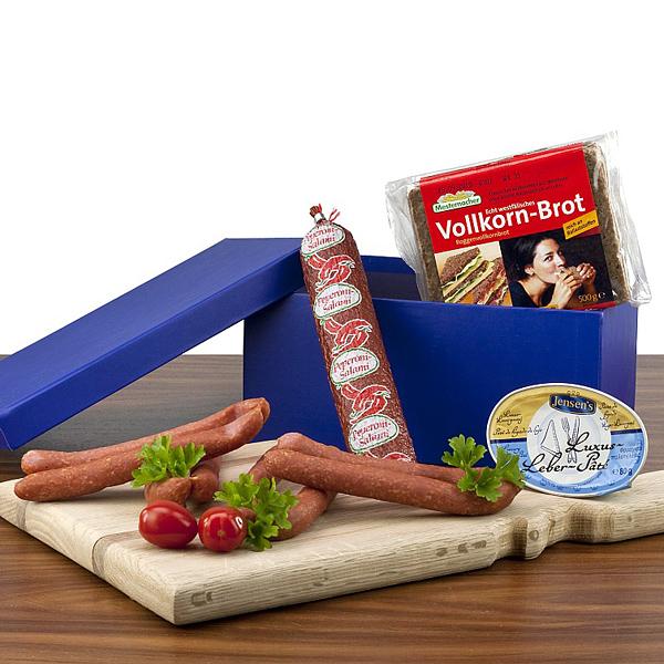 Brotzeit Salami Geschenk Set als Werbepräsente