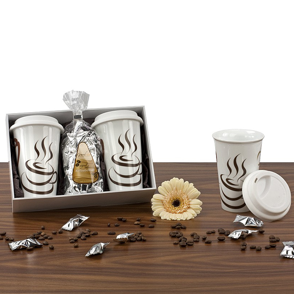 Coffeetogo Set als Werbepräsente