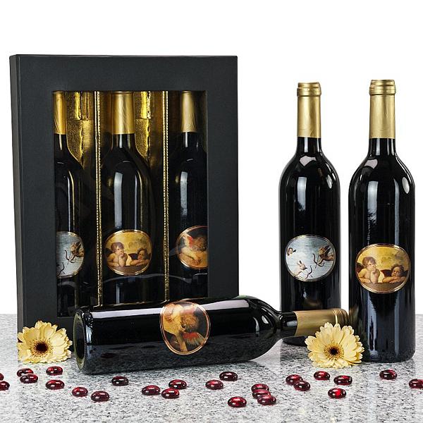 Rotwein Set als Werbegeschenk & Werbepräsent