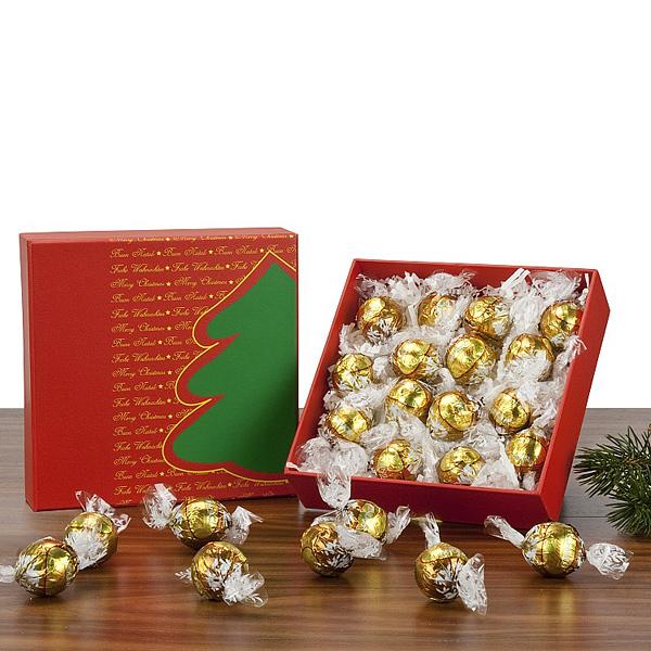Lindt Schokoladen Kugeln Set als Werbepräsent