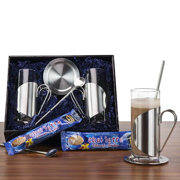 Chai Latte Macchiato Set als Werbepräsent