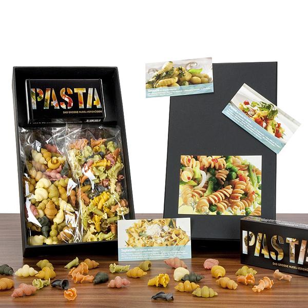 Pasta Nudeln als Werbegeschenk