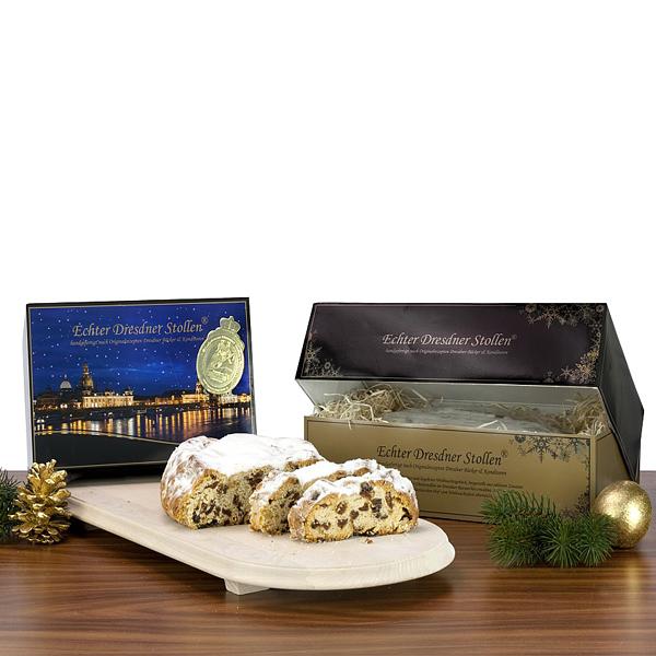 Dresdner Stollen 500 g als Werbegeschenk zu Weihnachten
