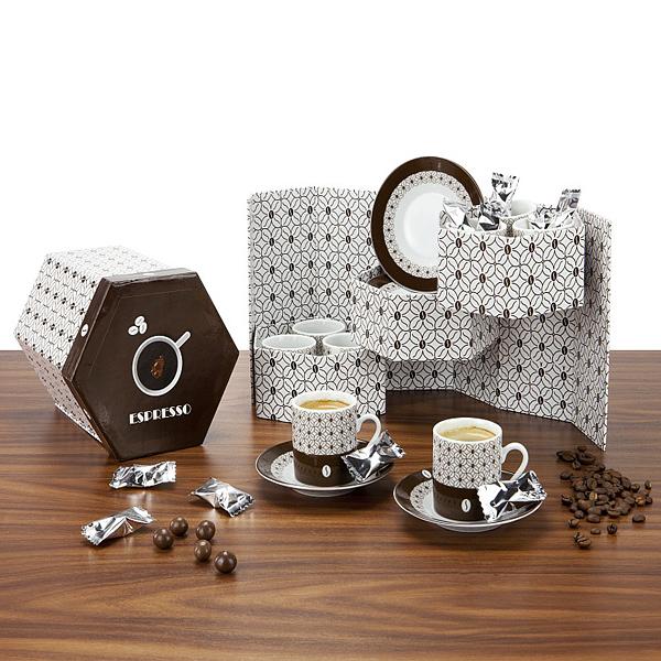 Espesso Tassen Set als Werbepräsent