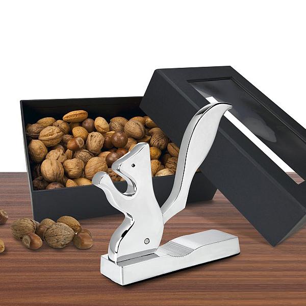 Nussknacker Eichhörnchen als Werbegeschenk