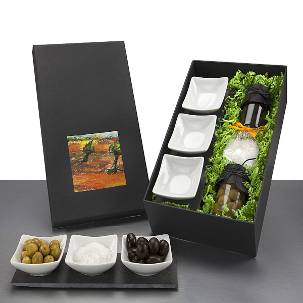 Antipasti Oliven Set als Werbepräsent
