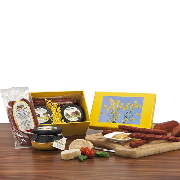 Senf Set in Geschenkverpackung als Werbegeschenk